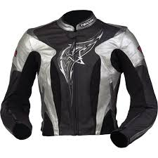 teknic women s venom leather jacket size 12
