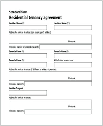 Free Tenancy Agreement Template Word Tenant Form Rental Forms To ...