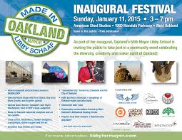 pictures of flyers invite of mayoral inauguration oaklands new mayor rides in our snail art car form reform