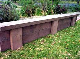 for a lifted garden these solid board walls are sy and great for enduring years of wear and tear the high design serves as a retaining wall as well as