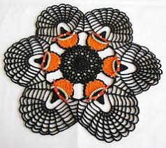 Halloween Pumpkin Witch Doily pattern by Donna Gladfelter - Ravelry