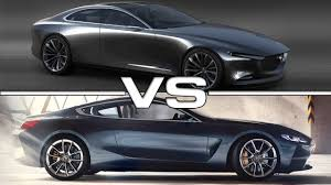 2018 Mazda Vision Coupe vs 2018 BMW 8 Series Coupe - YouTube