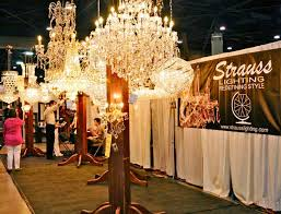 space lighting miami. Strauss Lighting Showcased Its Crystal Chandelier Collection In Booth Space. Space Miami