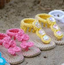 Free Crochet Patterns For Baby Sandals Amazing Design Inspiration