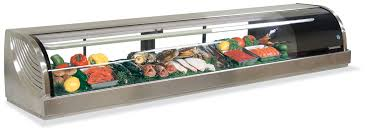 refrigerated display cases sushi cases 1134