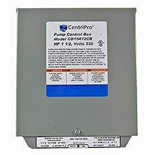 amazon com cb15412cr centripro submersible pump control box 1 5 cb15412cr centripro submersible pump control box 1 5 hp 230 v goulds