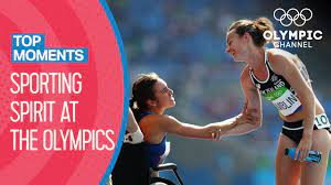 Top 10 Moments of Olympic Sporting Spirit