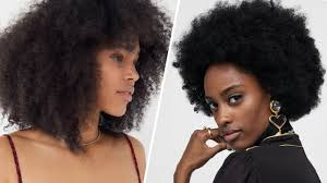 casting models with natural afros