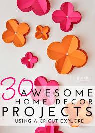 cricut home decor cartridge projects home box ideas