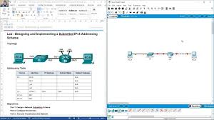 Designing And Implementing A Subnetted Ipv4 Addressing Scheme Answers 8 1 4 8 Lab Designing And Implementing A Subnetted Ipv4 Addressing Scheme