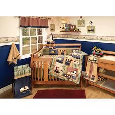 Ed Bauer Little Builder Baby Boy Nursery Bedding