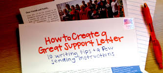 How To Create A Great Support Letter - Youthworks