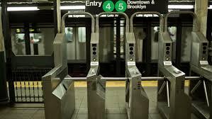 subway station turnstile. Modren Subway New York  July 17 Vidos De Stock 100  Libres Droit 6887695   Shutterstock And Subway Station Turnstile T