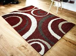 red brown rug red cream and brown rugs