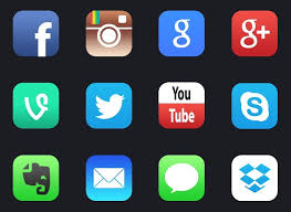 Apps Symbol Free Social Apps Icon 415206 Download Social Apps Icon 415206