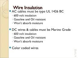 electrical wiring practices and diagrams wire insulationwire insulation iuml130151ac