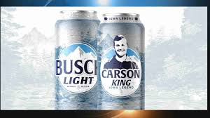 Busch Light Limited Edition Cans Iowa Legend Carson King Gets His Own Busch Light Cans