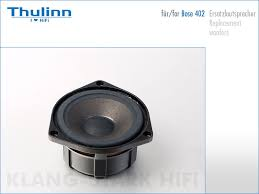 bose 402. replacement woofer for bose 402 speakers
