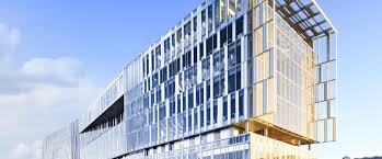 green office building. Perfect Building Southeast View Of Green Office Bordeaux Architect AS Architecture For Office Building E