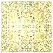 6x6 square rug area rugs 6 light green beige heritage wool
