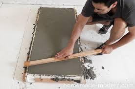 homemade modern ep40 concrete iron