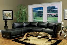 Living Room With Leather Furniture Living Room Decorating Ideas With Black Leather Furniture