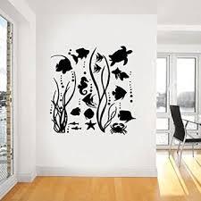 sea life vinyl wall art