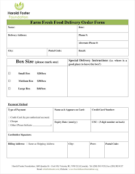 Delivery Order Sample Templates Delivery Order Template Examples Free Samples Download 21
