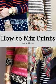 Pattern Mixing Delectable Mixing Prints Patterns Alexa Webb