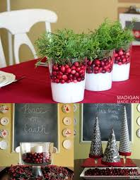 19 Simple And Elegant DIY Christmas Centerpieces  Style MotivationChristmas Centerpiece