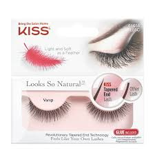 <b>Накладные ресницы</b> Kiss <b>Looks</b> so Natural Eyelashes Vamp ...
