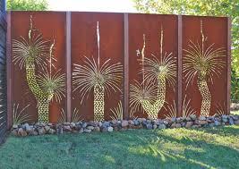 metal garden screens