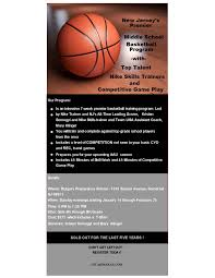 youth select basketball tryout flyers my cms one of new jerseys largest basketball clubs