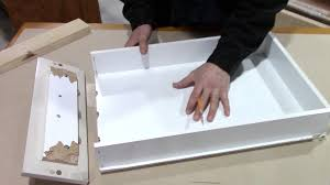 Kitchen Cabinet Drawer Fronts How To Fix A Broken Kitchen Drawer Bathroom Pull Out Repair