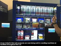 First Aid Vending Machine New Acme United Ready To Continue Growth Path In 48