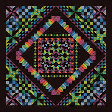 Calypso Kaleidoscope – 2015 Block of the Month pattern reveal ... & Calypso Kaleidoscope – 2015 Block of the Month pattern reveal | Quilt  Addicts Anonymous Adamdwight.com