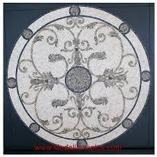 audrey 48 mosaic tile floor medallion