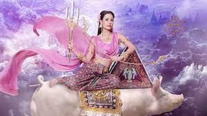 คิตตี้ นางสาวเชียงใหม่ แปลงโฉมเป็น นางรากษสเทวี นางสงกรานต์ประจำปี 2564
