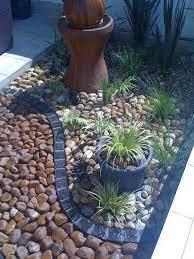 25 best pebble landscaping ideas
