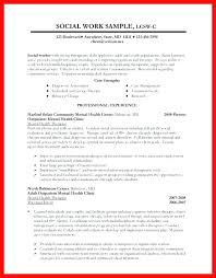 Sample Social Worker Resume Example Social Work Resume Sample Social