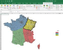 Excel Map Chart Add In Categories Color Archives Maps For Excel Simple Excel