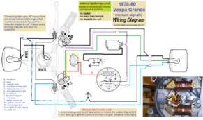vespa allstate wiring diagram car wiring diagram download David Brown 885 Wiring Diagram vespa electrical myrons mopeds vespa allstate wiring diagram 1978 83 vespa grande, grande mx 4 wire 2 coil magneto, external ignition ground 1971 david brown 885 wiring diagram