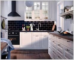 image of ikea kitchen cabinets and countertops