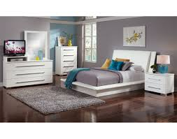 The Dimora Upholstered Collection - White | Value City Furniture and ...
