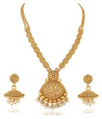 apara jalebi design gold plated pendant artificial jewellery set for women apara jalebi design gold plated pendant artificial jewellery set for women
