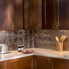 Kitchen Backsplash Panel Fasade 24 In X 18 In Traditional 4 Pvc Decorative Backsplash