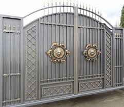 iron gate designs for homes. stunning gray gold gate design ideas for modern home decor iron designs homes