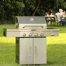 Plain Kitchenaid 5 Burner Gas Grill Deluxe 304 Stainless Steel Inside Decorating Ideas