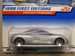 Amazon.com: Hotwheels Chrysler Thunderbolt-1998 1st Edition #32-40 ...