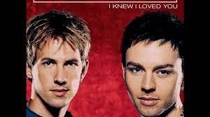 i knew i loved you acoustic version